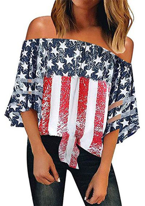 Best-4th-of-July-T-Shirts-For-Women-2019-Patriotic-Outfits-3