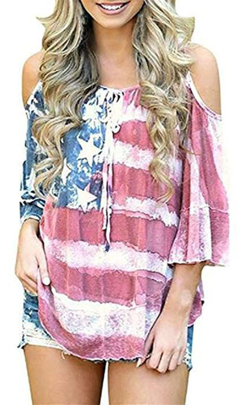Best-4th-of-July-T-Shirts-For-Women-2019-Patriotic-Outfits-5