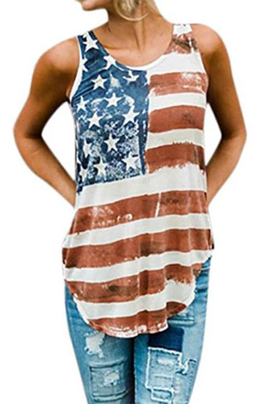 Best-4th-of-July-T-Shirts-For-Women-2019-Patriotic-Outfits-6