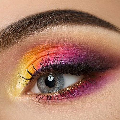 Summer-Eye-Makeup-Trends-Ideas-For-Girls-Women-2019-7