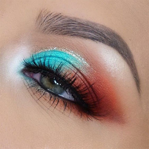 Summer-Eye-Makeup-Trends-Ideas-For-Girls-Women-2019-9