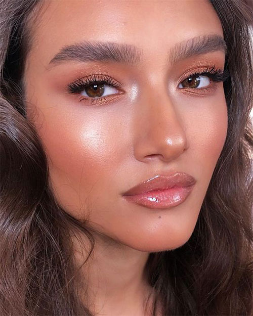 Summer-Face-Makeup-Trends-Ideas-For-Girls-Women-2019-12