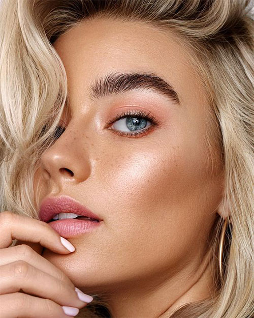 Summer-Face-Makeup-Trends-Ideas-For-Girls-Women-2019-14