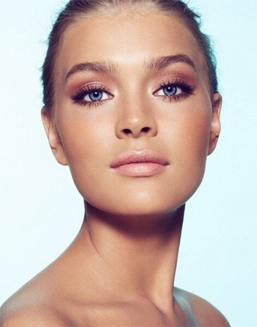 Summer-Face-Makeup-Trends-Ideas-For-Girls-Women-2019-4