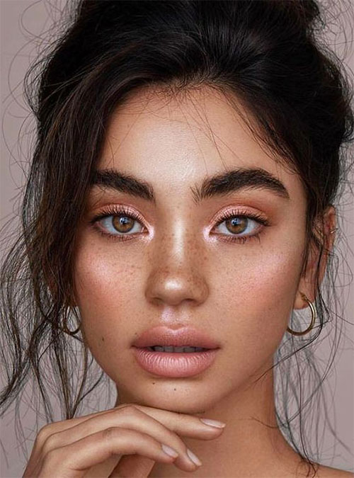 Summer-Face-Makeup-Trends-Ideas-For-Girls-Women-2019-8