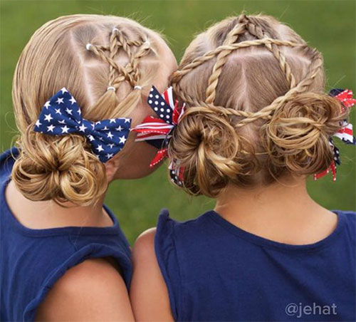 Inspiring-4th-of-July-Hairstyle-Looks-Ideas-For-Kids-Girls-2019-7