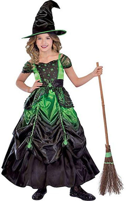 Witch-Halloween-Costumes-For-Kids-Girls-Women-2019-4