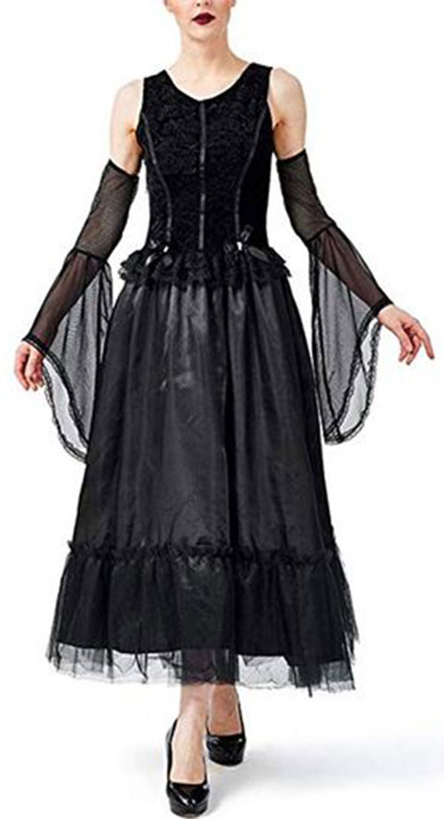 Witch-Halloween-Costumes-For-Kids-Girls-Women-2019-9