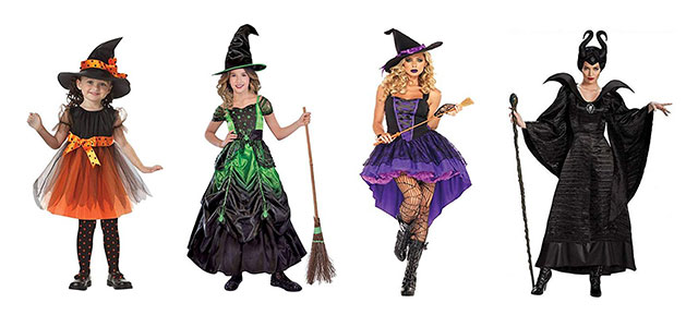 Halloween 2019.Witch Halloween Costumes For Kids Girls Women 2019 Modern