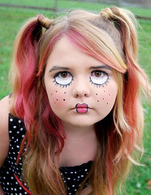 Halloween Makeup Ideas For Kids.15 Easy Halloween Makeup Ideas For Kids 2019 Modern