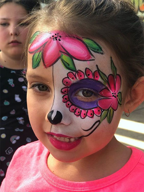 15 Easy Halloween Makeup Ideas For Kids 2019 | Modern