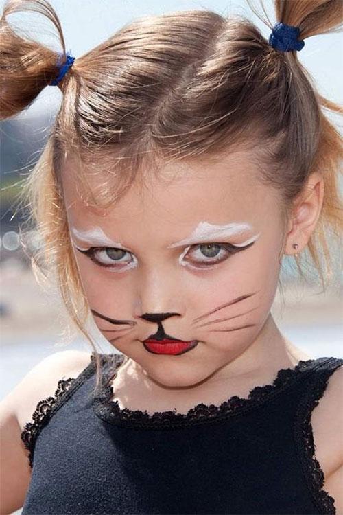 15 Easy Halloween Makeup Ideas For Kids 2019