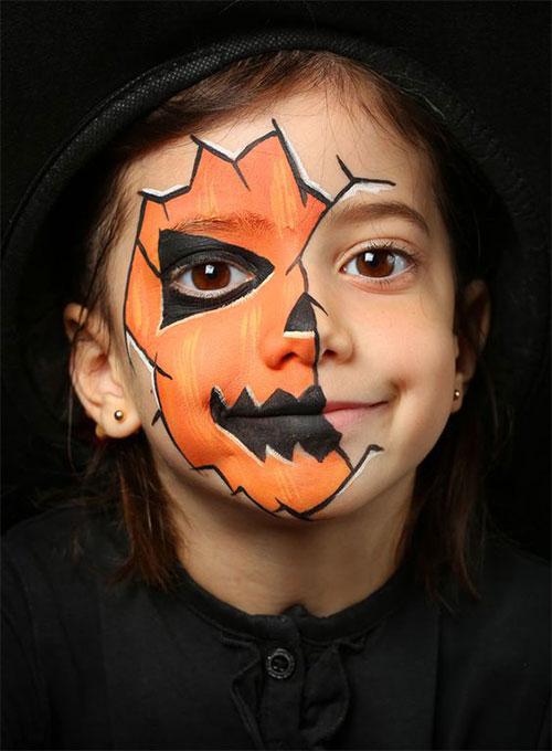 15-Easy-Halloween-Makeup-Ideas-For-Kids-2019-3