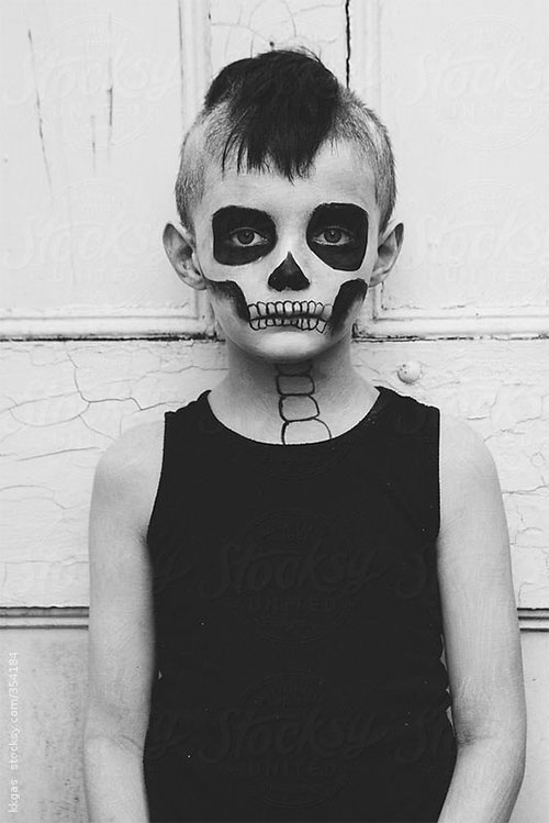 15-Easy-Halloween-Makeup-Ideas-For-Kids-2019-6