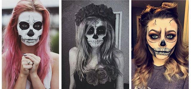 18-Halloween-Skull-Makeup-Looks-For-Girls-Women-2019-F