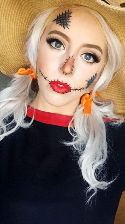 18 Last,Minute Easy Halloween Makeup Ideas 2019