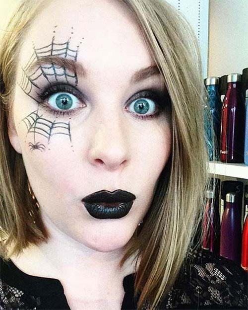 18-Last-Minute-Easy-Halloween-Makeup-Ideas-2019-Simple-Halloween-Makeup-11