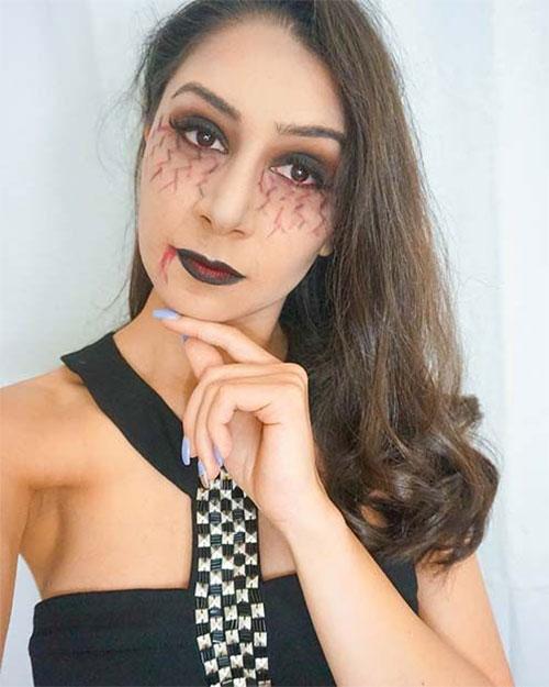 18-Last-Minute-Easy-Halloween-Makeup-Ideas-2019-Simple-Halloween-Makeup-18