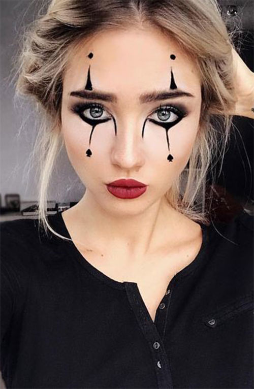 18 Last,Minute Easy Halloween Makeup Ideas 2019