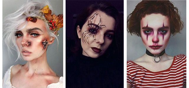 20-Creepy-Halloween-Makeup-Looks-For-Girls-Women-2019-F