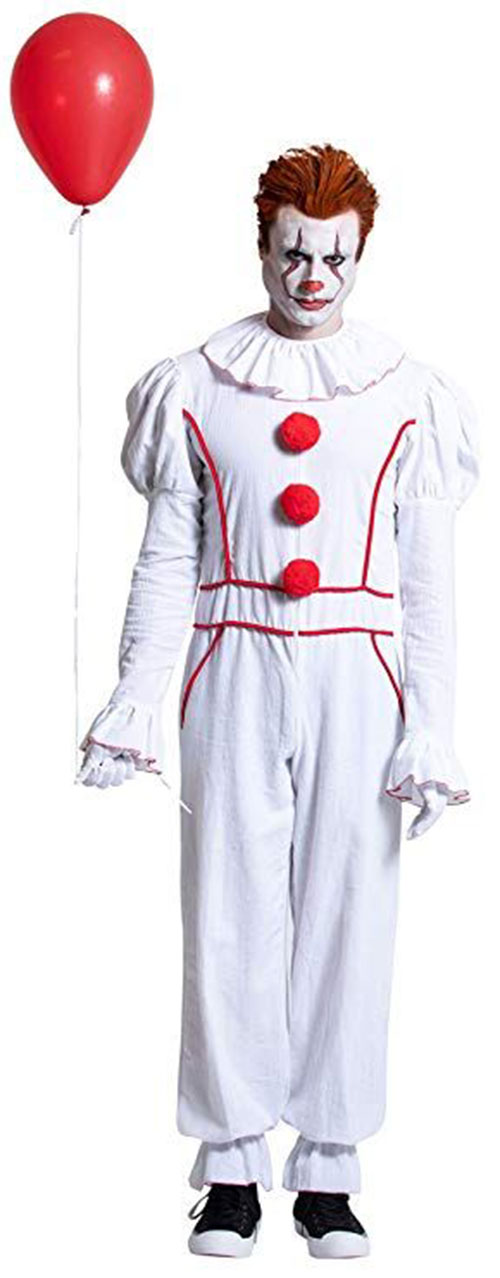 Best-Halloween-Clown-Costumes-For-Kids-Men-Women-2019-11