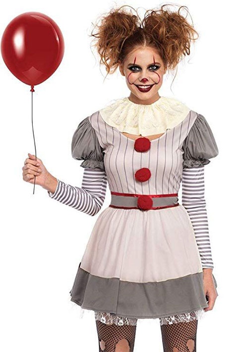 Best-Halloween-Clown-Costumes-For-Kids-Men-Women-2019-18