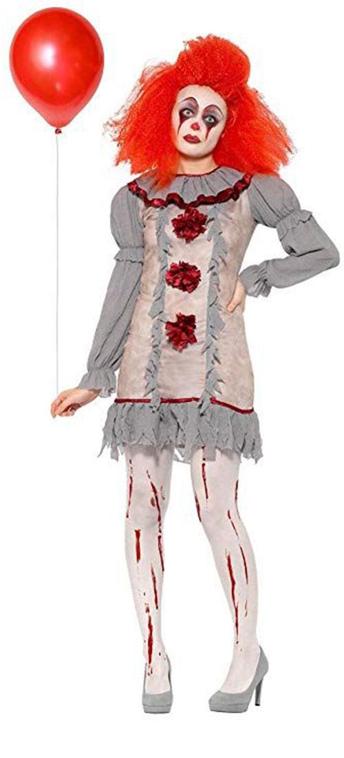 Best-Halloween-Clown-Costumes-For-Kids-Men-Women-2019-4