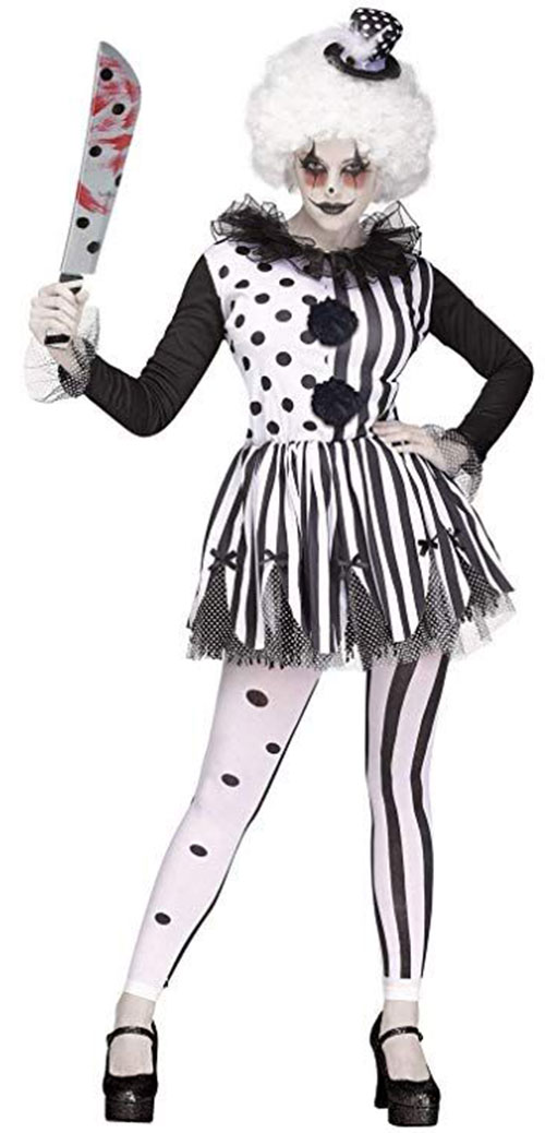 Best-Halloween-Clown-Costumes-For-Kids-Men-Women-2019-6