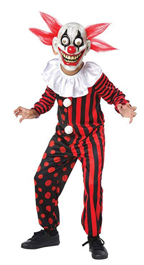 Best-Halloween-Clown-Costumes-For-Kids-Men-Women-2019-9