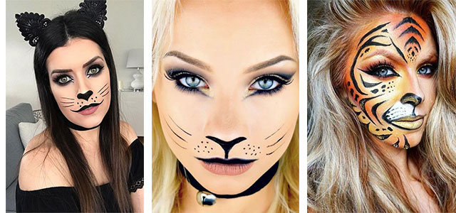 Halloween-Cat-Face-Makeup-Ideas-2019-Halloween-Cat-Looks-F