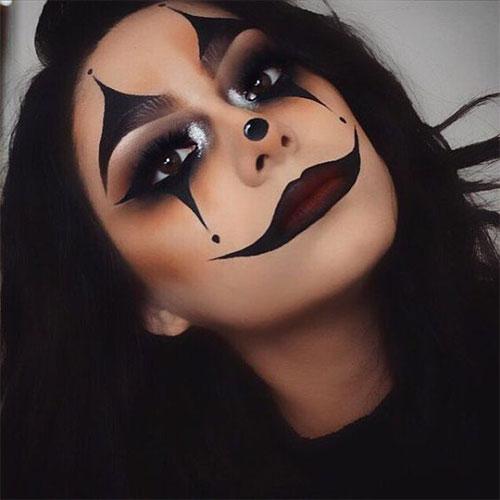 Halloween-Clown-Makeup-Looks-Ideas-For-Girls-Women-2019-11