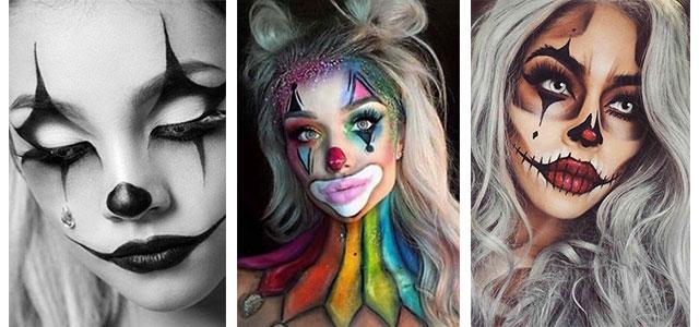 Halloween-Clown-Makeup-Looks-Ideas-For-Girls-Women-2019-F
