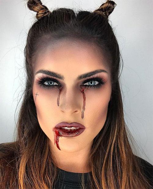 Halloween-Devil-Makeup-Looks-Ideas-2019-Halloween-Demon-Makeup-1