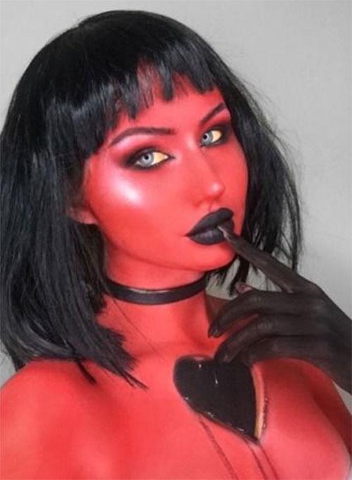 Halloween-Devil-Makeup-Looks-Ideas-2019-Halloween-Demon-Makeup-10