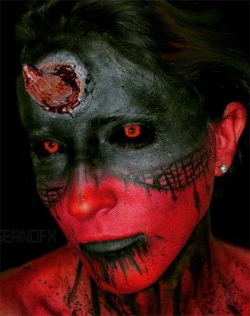 Halloween-Devil-Makeup-Looks-Ideas-2019-Halloween-Demon-Makeup-12
