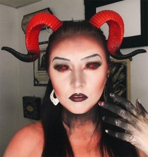 Halloween-Devil-Makeup-Looks-Ideas-2019-Halloween-Demon-Makeup-4