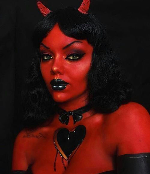 Halloween-Devil-Makeup-Looks-Ideas-2019-Halloween-Demon-Makeup-9