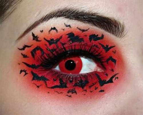 Halloween-Eye-Makeup-Ideas-Looks-For-Girls-Women-2019-14