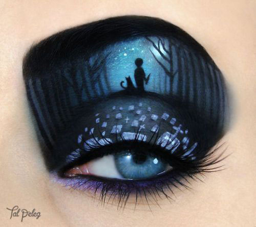 Halloween-Eye-Makeup-Ideas-Looks-For-Girls-Women-2019-5
