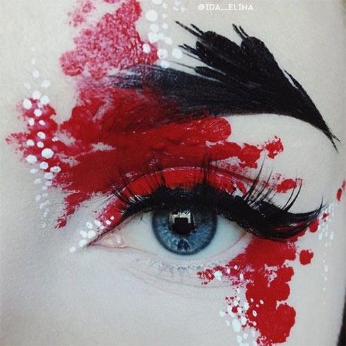 Halloween-Eye-Makeup-Ideas-Looks-For-Girls-Women-2019-7