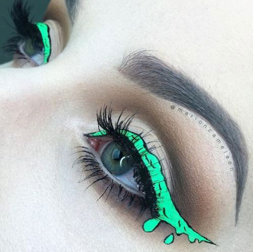 Halloween-Eye-Makeup-Ideas-Looks-For-Girls-Women-2019-8