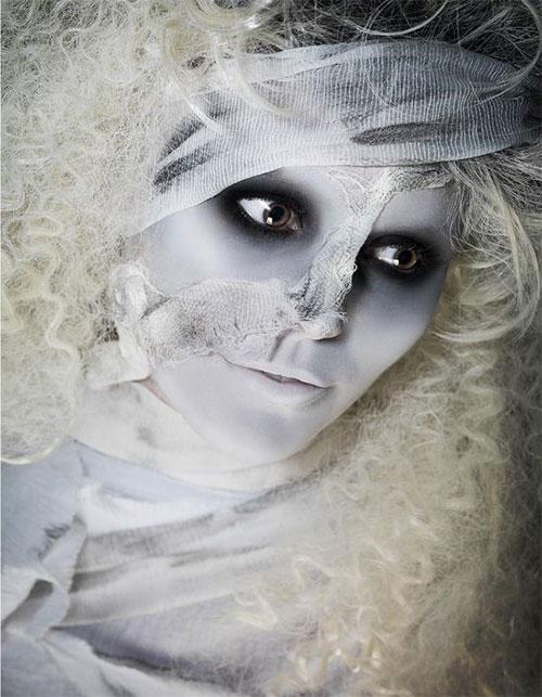 Mummy-Halloween-Makeup-Looks-Ideas-For-Girls-Women-2019-11
