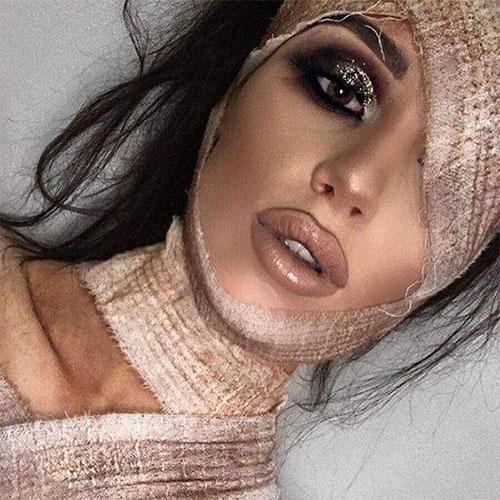 Mummy-Halloween-Makeup-Looks-Ideas-For-Girls-Women-2019-12