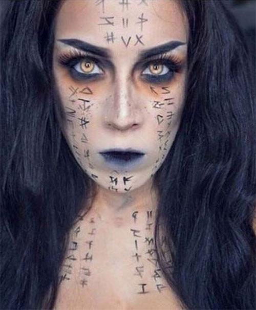 Mummy-Halloween-Makeup-Looks-Ideas-For-Girls-Women-2019-9