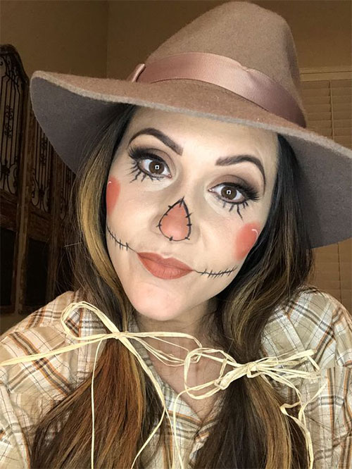 Scarecrow-Halloween-Makeup-Looks-Ideas-2019-12