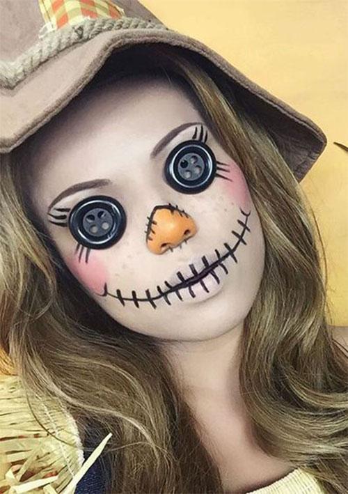 Scarecrow-Halloween-Makeup-Looks-Ideas-2019-13
