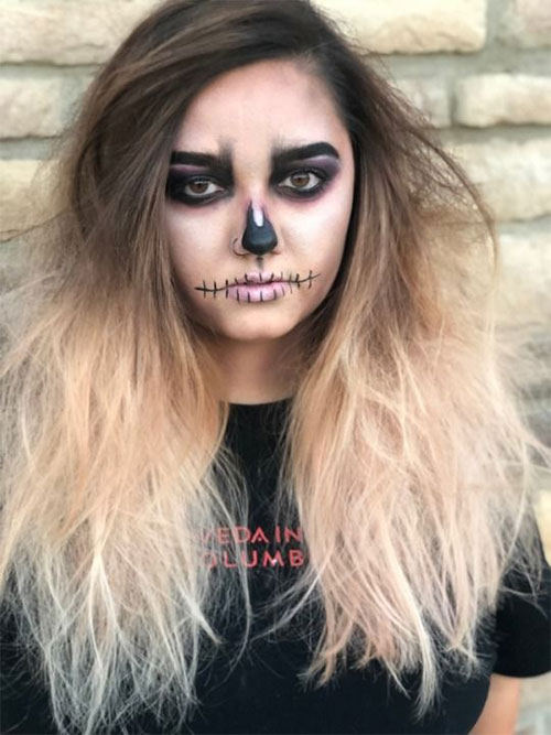 Scarecrow-Halloween-Makeup-Looks-Ideas-2019-7