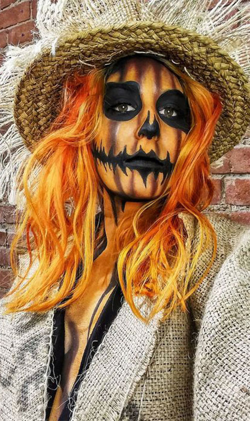 Scarecrow-Halloween-Makeup-Looks-Ideas-2019-9