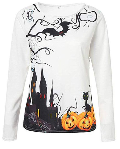 Scary-Funny-Halloween-Shirts-For-Girls-Women-2019-Halloween-Clothes-7