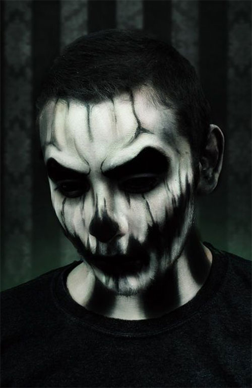 Scary-Halloween-Makeup-Ideas-For-Men-2019-7